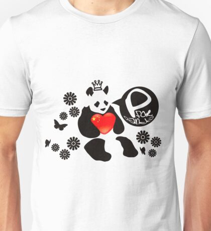 P for Panda Unisex T-Shirt