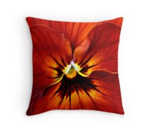 Surrounded by Orange Throw Pillow