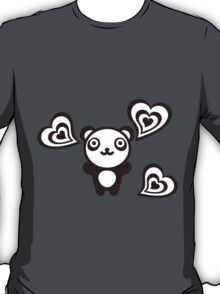 Panda_and_Hearts T-Shirt