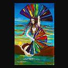 Rainbow goddess by Elisabeth Dubois