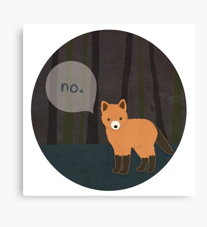 What the Fox Say? Canvas Print