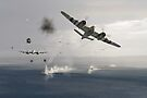 Beaufighters attacking E-boats by Gary Eason