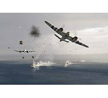 Beaufighters attacking E-boats Photographic Print