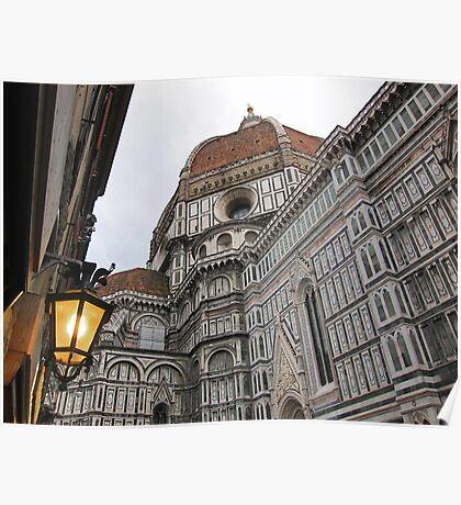 Basilica di Santa Maria del Fiore , Florence, Italy Poster
