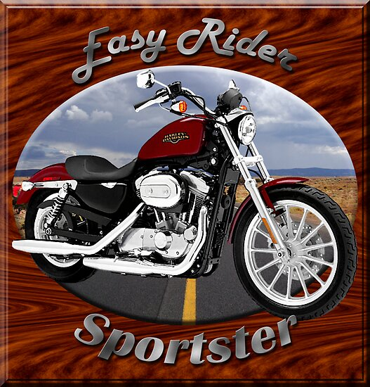 Harley Davidson Sportster Easy Rider by hotcarshirts