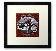 Harley Davidson Sportster Easy Rider Framed Print