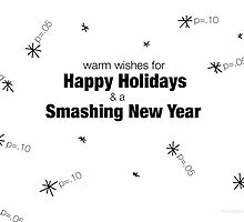 Happy Holidays by Stephanie Evergreen