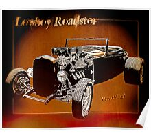 Lowboy Roadster Drawing Ur Wall's Desire Poster
