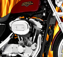 Harley Davidson Sportster Fast and Fierce Sticker