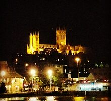 Lincoln Cathedral by Robert Steadman