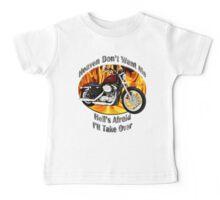 Harley Davidson Heaven Don't Want Me Baby Tee