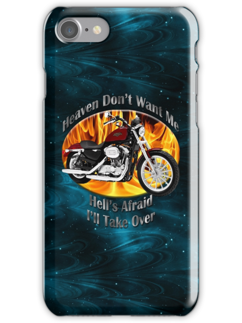 Harley Davidson Heaven Don't Want Me by hotcarshirts