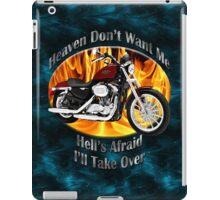 Harley Davidson Heaven Don't Want Me iPad Case/Skin