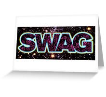 Swag Icon Greeting Card