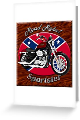 Harley Davidson Sportster Road Rebel by hotcarshirts