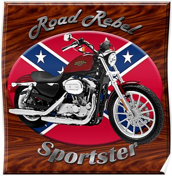 Harley Davidson Sportster Road Rebel by hotcarshirts