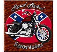 Harley Davidson Sportster Road Rebel Photographic Print