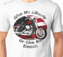 Harley Davidson Sportster Give Me Liberty Unisex T-Shirt