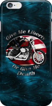 Harley Davidson Sportster Give Me Liberty by hotcarshirts