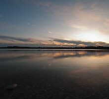 Still Waters at Dusk by Fred Slocombe