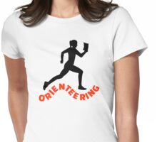 Orienteering Womens Fitted T-Shirt