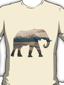 Elephant and Homer Spit T-Shirt
