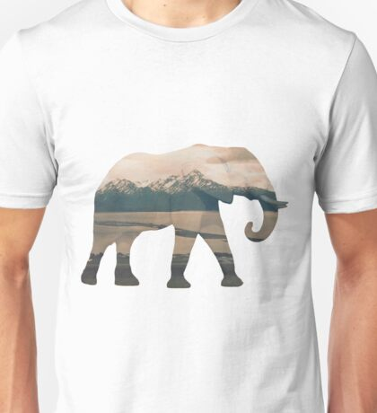 Elephant and Homer Spit Unisex T-Shirt