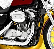 Harley Davidson Sportster King Of The Road Sticker