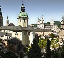 Salzburg Austria by Gregory Dyer