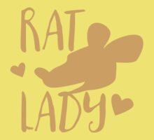 Rat Lady One Piece - Short Sleeve