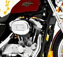 Harley Davidson Sportster Road Warrior Sticker