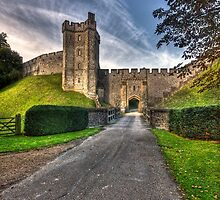 THE CASTLE GATE. by Peter Sutton