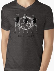 Silent Ladies Mens V-Neck T-Shirt