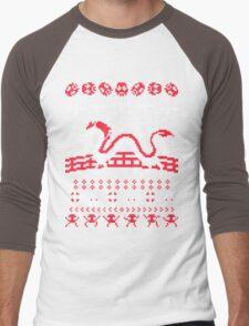The Spirits of Christmas Men's Baseball ¾ T-Shirt