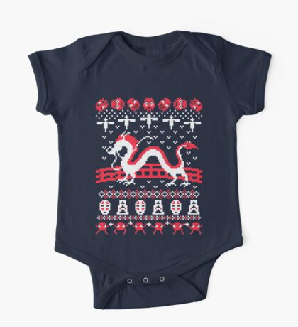The Spirits of Christmas One Piece - Short Sleeve