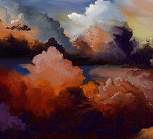 Fiery Sky by Sandra  Aguirre