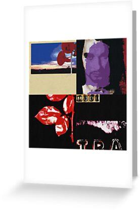 Depeche Mode Pop Art by PheromoneFiend