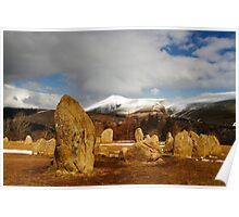 Stones and Skiddaw Poster