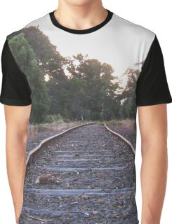 The Old Railway Track Graphic T-Shirt