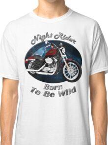 Harley Davidson Sportster Night Rider Classic T-Shirt