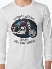Harley Davidson Sportster Night Rider Long Sleeve T-Shirt