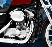 Harley Davidson Sportster Night Rider Sticker