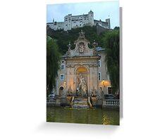 Salzburg Austria  Greeting Card
