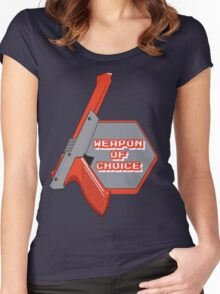 Weapon of Choice (Re-make) Women's Fitted Scoop T-Shirt