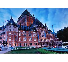 Chateau Frontenac - 2000 Photographic Print