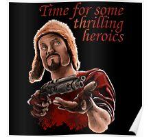 Jayne Cobb - Time For Some Thrilling Heroics Poster