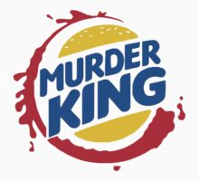 Burger King Murder King T-shirt by logo-tshirt