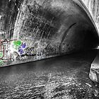 Tunnel Graffiti by Aaron Campbell