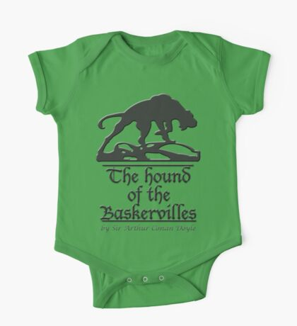 The hound of the Baskervilles One Piece - Short Sleeve
