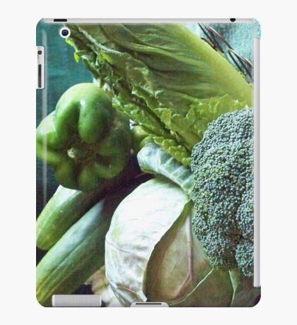 Green Grocery Bag iPad Case/Skin